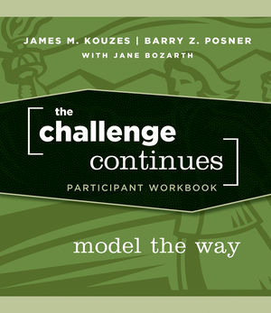 The Challenge Continues: Model the Way, Participant Workbook (0470402822) cover image