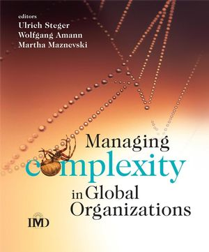 Managing Complexity in Global Organizations (0470510722) cover image