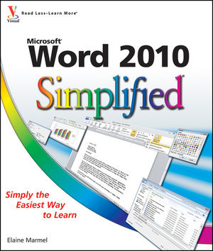 Word 2010 Simplified (0470577622) cover image