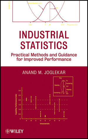 Industrial Statistics: Practical Methods and Guidance for Improved Performance (0470584122) cover image