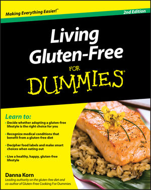 Living Gluten-Free For Dummies, 2nd Edition (0470644222) cover image