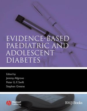 Evidence-Based Paediatric and Adolescent Diabetes (0470691522) cover image