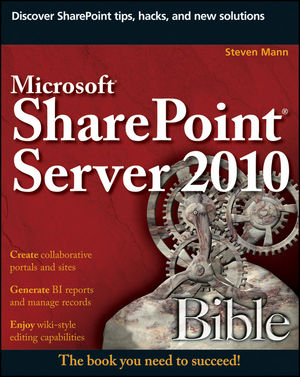 Microsoft SharePoint Server 2010 Bible (0470952822) cover image