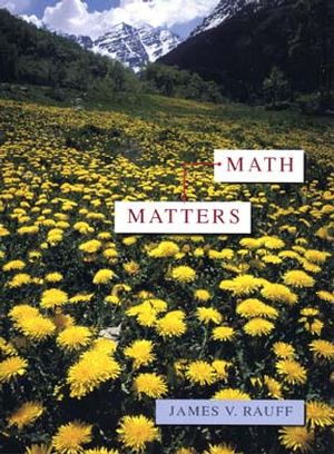 Math Matters (0471304522) cover image