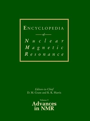 Encyclopedia of Nuclear Magnetic Resonance, Volume 9, Advances in NMR (0471490822) cover image