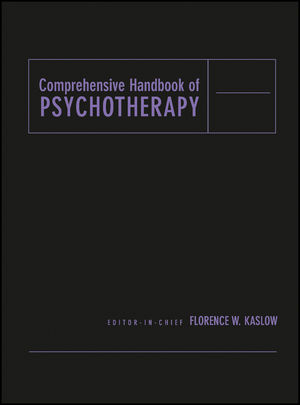 Comprehensive Handbook of Psychotherapy, Volumes 1 - 4, Set