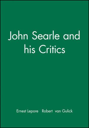 John Searle and his Critics