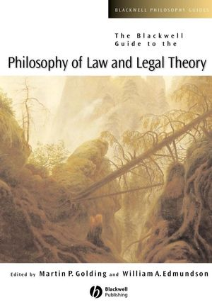 The Blackwell Guide to the Philosophy of Law and Legal Theory (0631228322) cover image