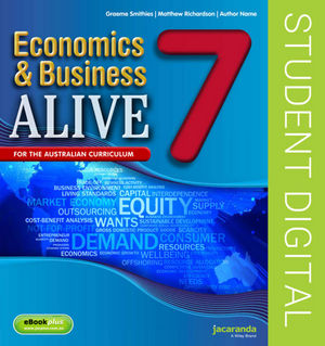 Business & Economics Alive 7 Australian Curriculum Edition (Online Purchase)
