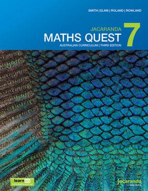 Jacaranda Maths Quest 7 Australian Curriculum 3e LearnON & Print