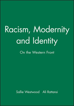 Racism, Modernity and Identity: On the Western Front