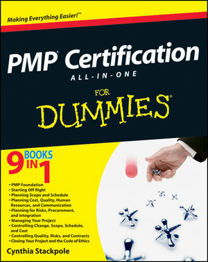 PMP Certification All-In-One Desk Reference For Dummies (1118028422) cover image