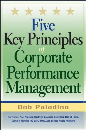 Five Key Principles of Corporate Performance Management
