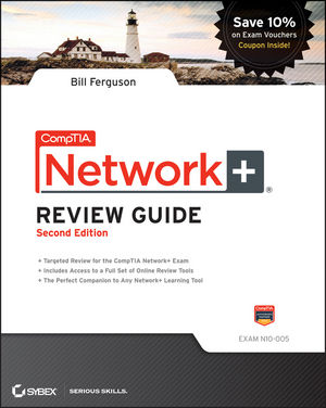 CompTIA Network+ Review Guide: Exam: N10-005, 2nd Edition (1118148622) cover image