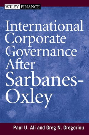 International Corporate Governance After Sarbanes-Oxley (1118161122) cover image