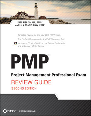 PMP: Project Management Professional Exam Review Guide, 2nd Edition (1118164822) cover image