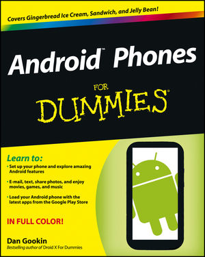 Get to know your Android Phone and Dummies author Dan Gookin