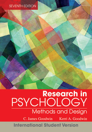 Research In Psychology: Methods and Design, 7th Edition International Student Version