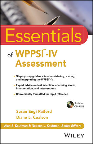 Essentials of WPPSI-IV Assessment