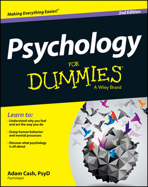 Psychology For Dummies, 2nd Edition (1118611322) cover image
