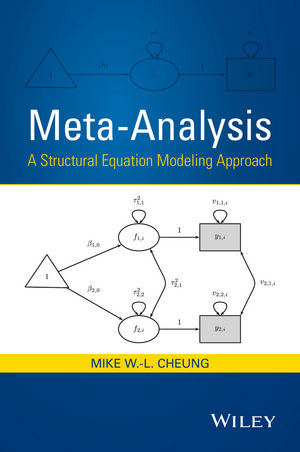 Meta-Analysis: A Structural Equation Modeling Approach (1118957822) cover image