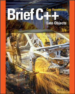 Brief C++: Late Objects, Enhanced eText, 3rd Edition