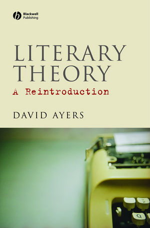 Literary Theory: A Reintroduction (1405136022) cover image