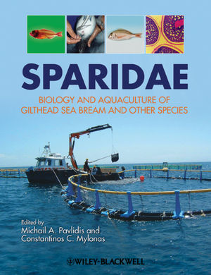 Sparidae: Biology and aquaculture of gilthead sea bream and other species (1405197722) cover image