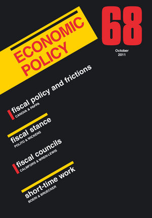 Economic Policy 68 (1444338722) cover image