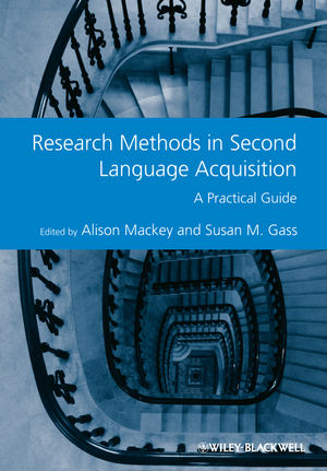 Research Methods in Second Language Acquisition: A Practical Guide (1444347322) cover image