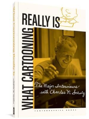 WHAT CARTOONING REALLY IS HC INTERVIEWS CHARLES SCHULZ