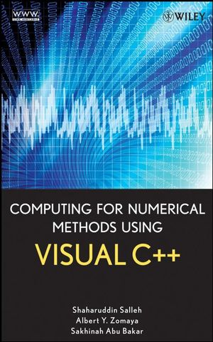 Computing for Numerical Methods Using Visual C++ (0470192623) cover image