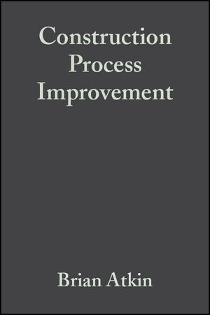Construction Process Improvement (0470680423) cover image