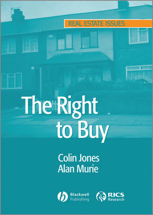 The Right to Buy: Analysis and Evaluation of a Housing Policy (0470759623) cover image