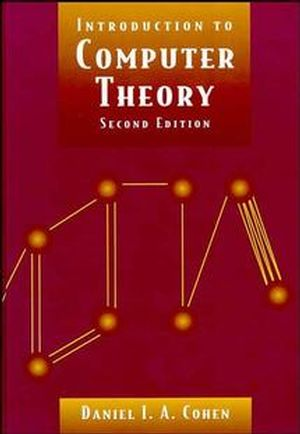 Introduction to Computer Theory, 2nd Edition (0471137723) cover image