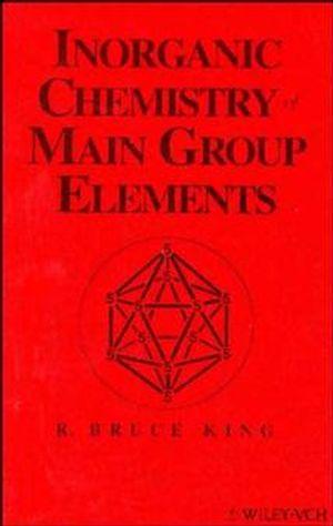Inorganic Chemistry of Main Group Elements