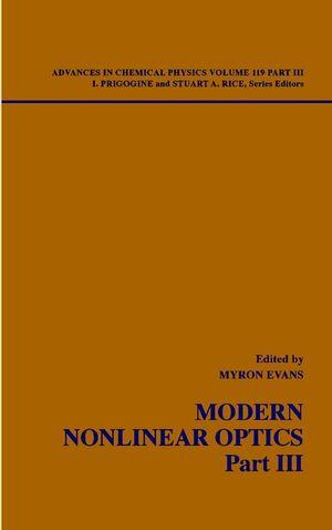 Modern Nonlinear Optics, Part 3, 2nd Edition, Volume 119