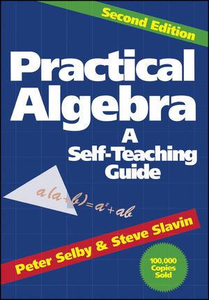 Practical Algebra: A Self-Teaching Guide, 2nd Edition (0471530123) cover image