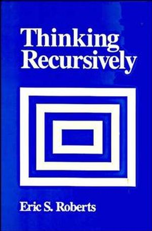 Thinking Recursively (0471816523) cover image