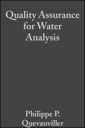 Quality Assurance for Water Analysis (0471899623) cover image