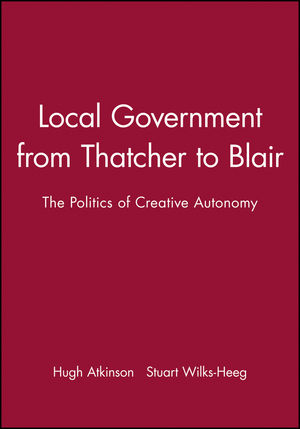 Local Government Since 1945 (0631195823) cover image
