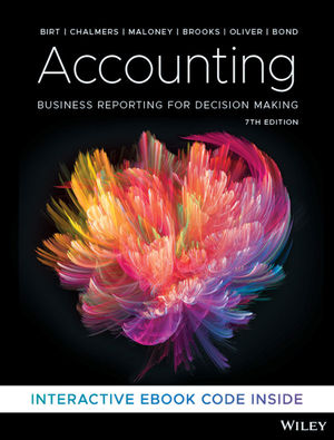 Accounting: Business Reporting for Decision Making, 7th Edition