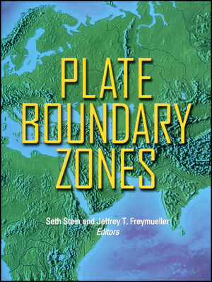 Plate Boundary Zones (0875905323) cover image