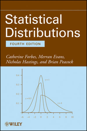 Statistical Distributions, 4th Edition (1118097823) cover image