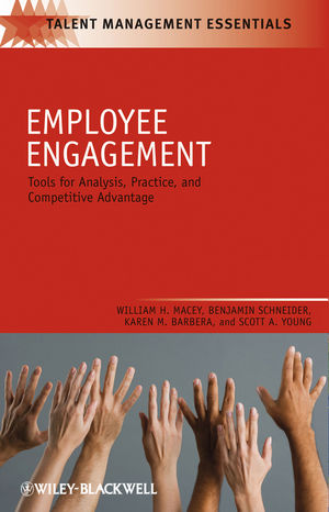 Employee Engagement: Tools for Analysis, Practice, and Competitive Advantage (1118305523) cover image