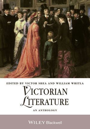 Victorian Literature: An Anthology (1118329023) cover image
