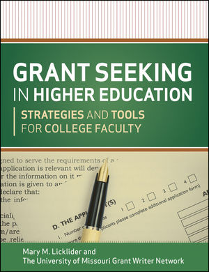 Grant Seeking in Higher Education: Strategies and Tools for College Faculty (1118395123) cover image