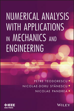Numerical Analysis with Applications in Mechanics and Engineering (1118614623) cover image