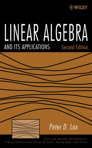 Linear Algebra and Its Applications, 2nd Edition (1118626923) cover image
