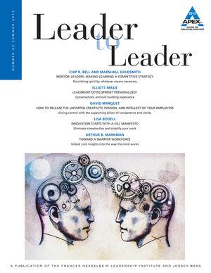 Leader to Leader (LTL), Volume 69, Summer 2013